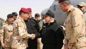 Iraqi PM lands in liberated Mosul, claims victory against IS