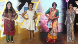 Vaani Kapoor, Zeenat Aman & Preeti Jhangiani At National Jewellery Awards 2017