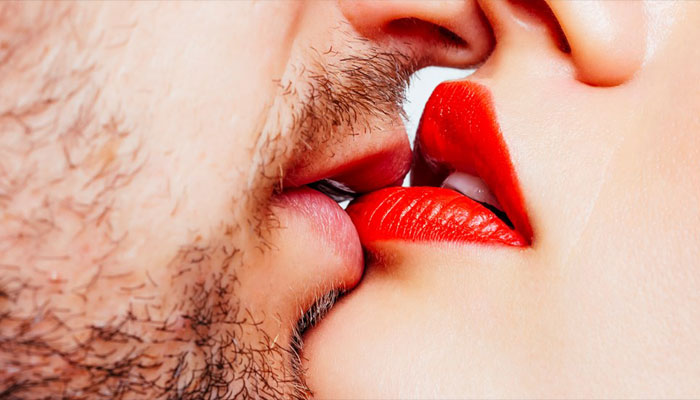 Ever noticed this? You lean towards right while kissing...