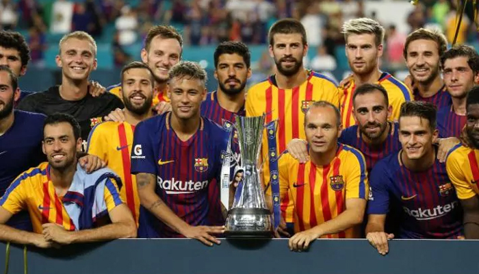 Barcelona beats Real Madrid 3-2 in Champions Cup