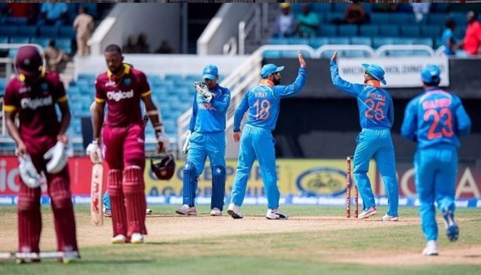 5th ODI: Kohli stars as India beats West Indies by eight wickets