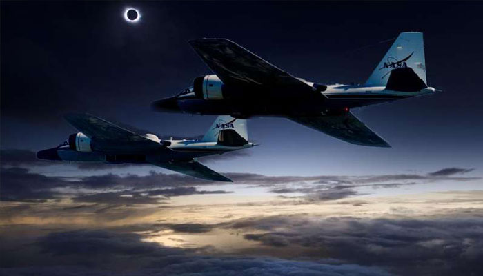 Scientists to chase solar eclipse using NASAs research jets