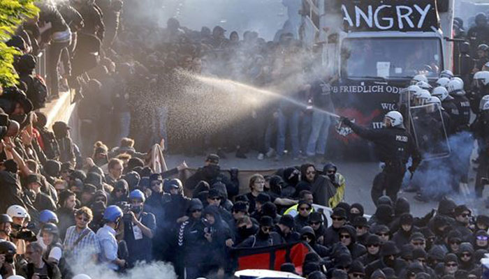 G20 summit: 197 police officers injured in anti-G20 protests