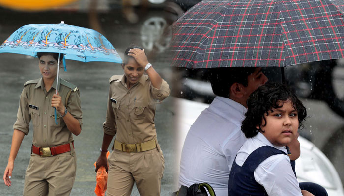 Rains: Sometimes fun, sometimes trouble but Lucknow keeps moving