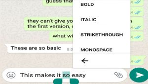 WhatsApp introduces find emoji, text font features for Android