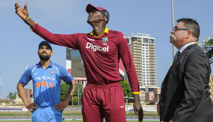 WI vs Ind, one-off T20: West Indies wins toss, India to bat