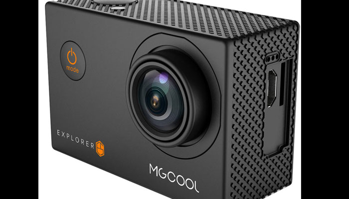 MgCool Explore Pro - the action camera of the new Generation