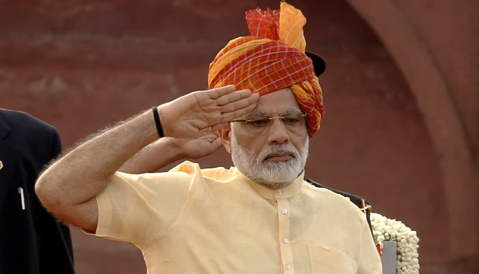 71st Independence Day, LIVE: PM Modi unfurls tricolour at Red Fort