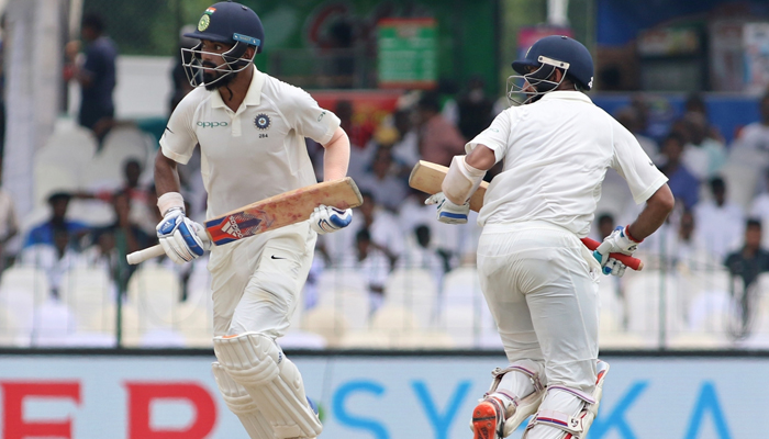 SL vs Ind, 2nd Test: India off to a good start; Rahul, Pujara hit fifty