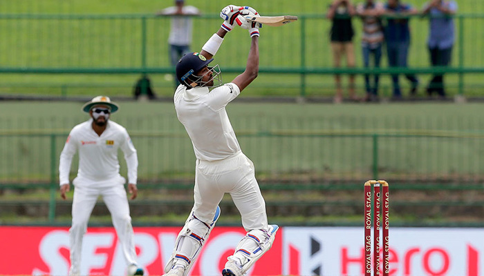 Pandya hits breathtaking maiden Test ton, India all-out at 487