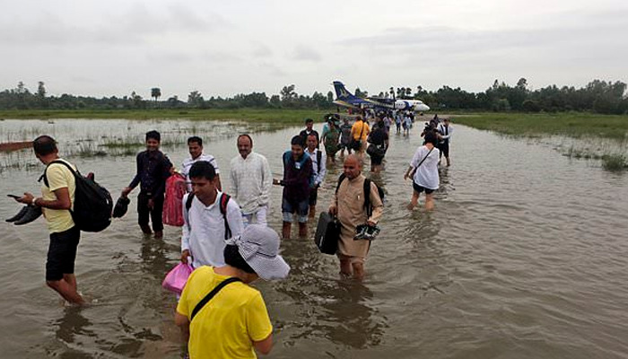 Heavy rains, water released by Nepal maroon hundreds in UP