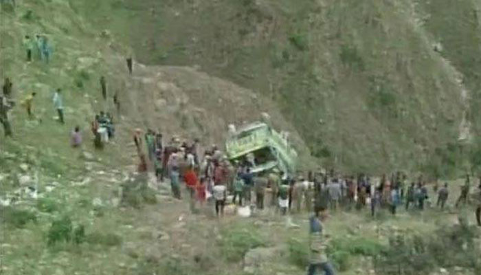 Odisha: Eight people die as mini truck plunges into gorge