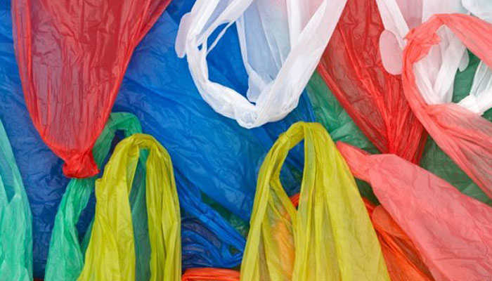 Sixty six quintals of polythene bags seized in Agra