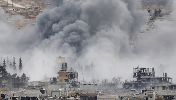 At least 60 civilians killed in US airstrikes in Syria
