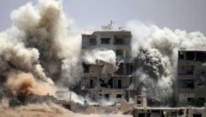 At least 30 civilians killed in US-led strikes in Syria