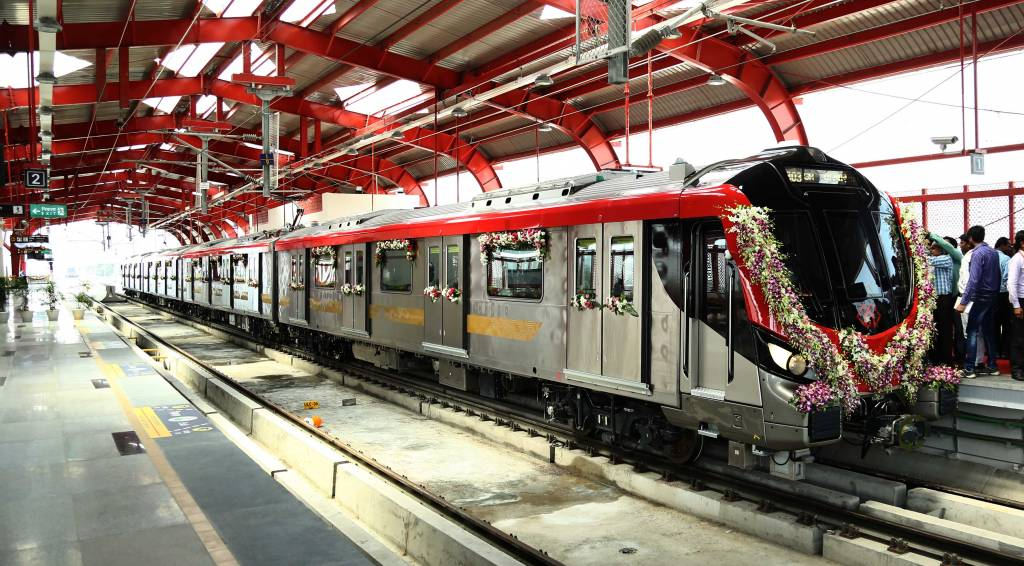 Lucknow Metro construction paces up, will be open for all soon
