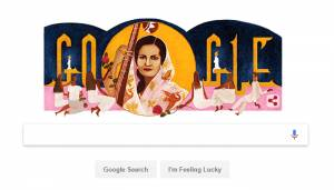 Google remembers Mallika-e-Ghazal Begum Akhtar with doodle