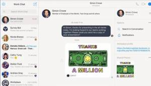 Facebook launches Workplace Chat app for desktop