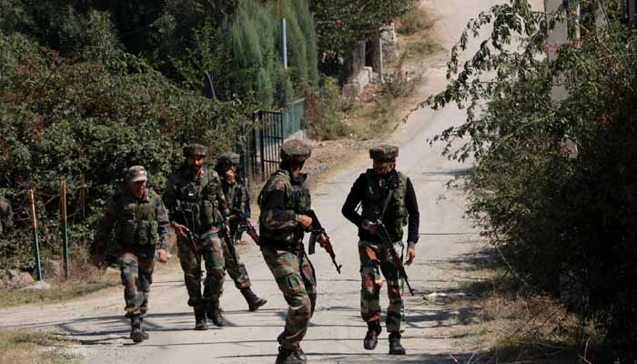 Indian Army guns down two terrorists, one policeman martyred