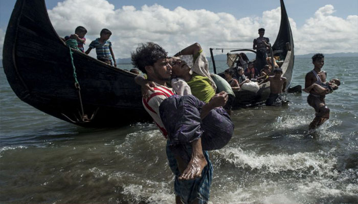 Boat carrying Rohingya people capsizes; two killed, over 32 missing