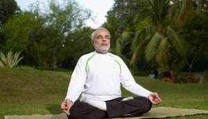 PM Modi shares video of yoga asan, says it helps relieve stress