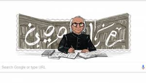 Google doodles for Indian Urdu writer Abdul Qavi Desnavi