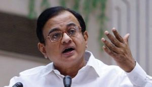 Tired of listening to PM beat his own trumpet on Pak: Chidambaram