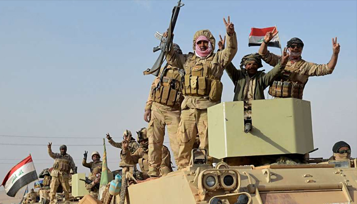 Iraqi forces retake the country's last Islamic State-held town