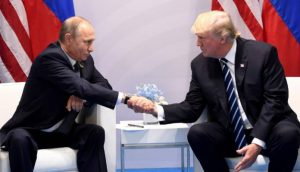 Donald Trump, Vladimir Putin join hands to defeat IS in Syria