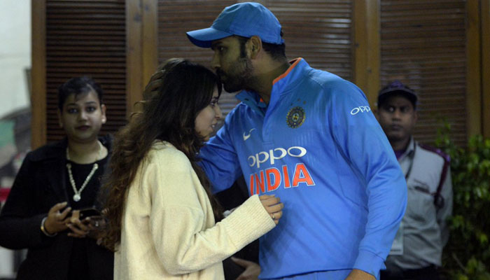 Rohit Sharma's anniversary gift to wife sums up their tale of love