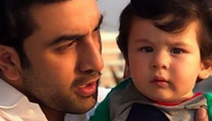 Pictures: When Ranbir spent time with 'uncle' Taimur
