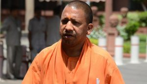 Man tries to jump before UP CM Yogi's car over illegal mining