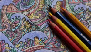 Colouring books for adults can help reduce stress