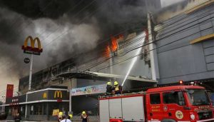 At least 37 people feared dead in Philippine city mall fire