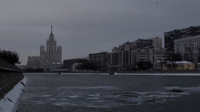 Moscow had six-minutes of sunshine in December