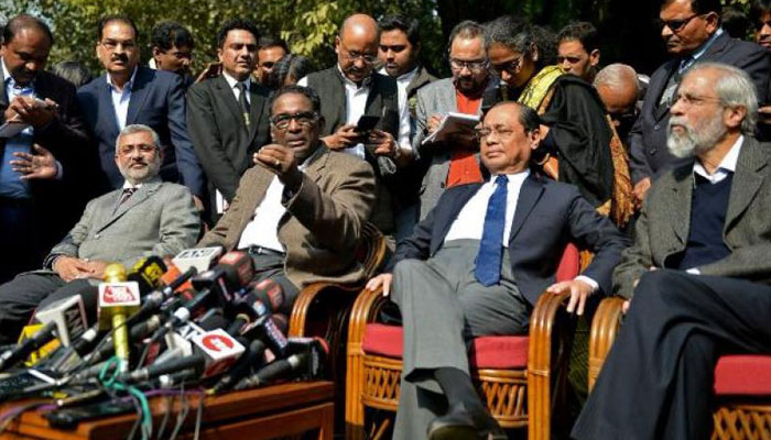 BCI delegation meets two SC judges to resolve the crisis