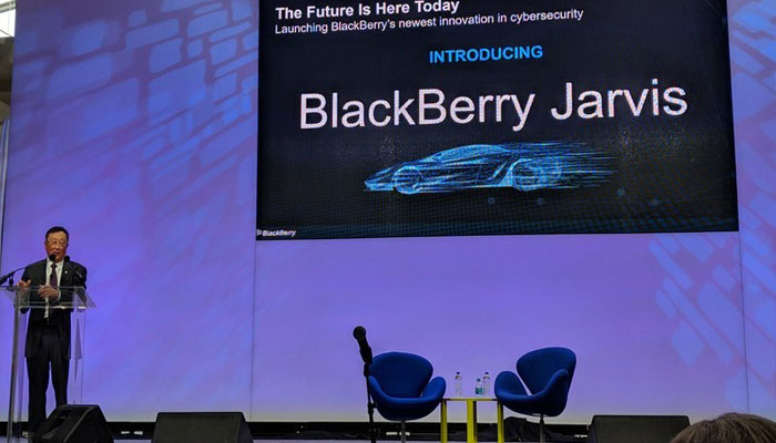BlackBerry unveils Jarvis to secure self-driving cars