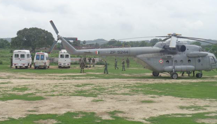 Top CRPF officer airlifted to Jammu after heart attack