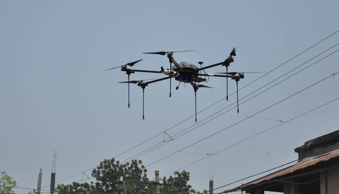 Railways to use drones for monitoring, rescue operations