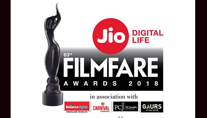 63rd Jio Filmfare Awards 2018 nominations: Here is the complete list