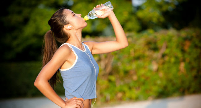 Working out freak? Here is some fluid consumption suggestion...