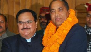 Shun practice of touching feet, says Himachal Chief Minister