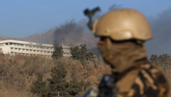 India condemns terror attack on Kabul hotel that killed eighteen