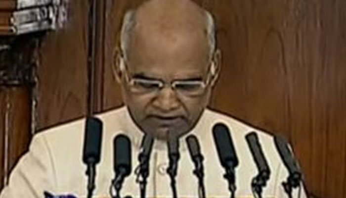 Budget session: President calls 2018 a year of full of opportunities