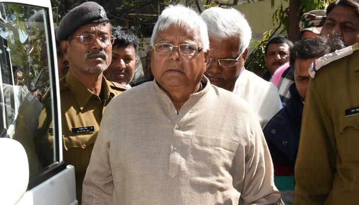 Lalu Yadav appears in CBI court in another fodder scam case