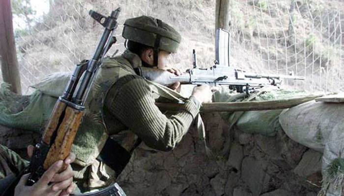 Indian, Pakistani troops trade heavy fire on Line of Control