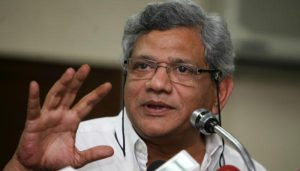 In case of mismatch with EVM figures, VVPATs must be counted: Yechury