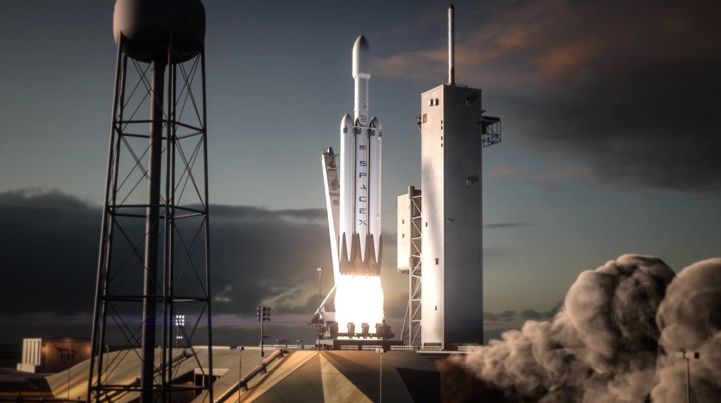 SpaceXs Falcon Heavy to launch in early February
