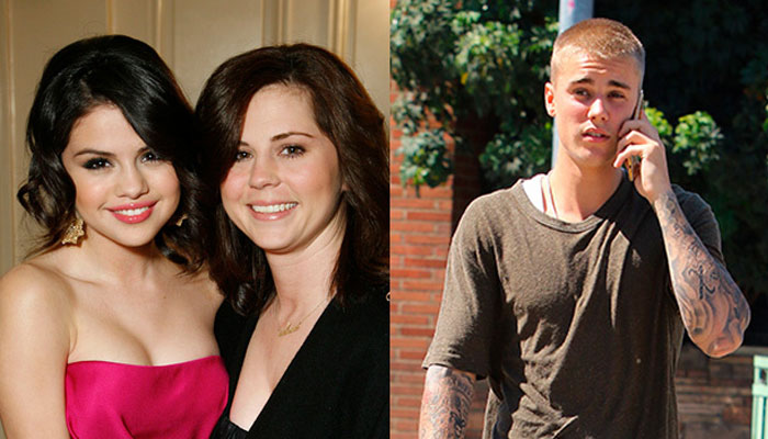 Selena Gomezs mother disapproves of romance with Bieber