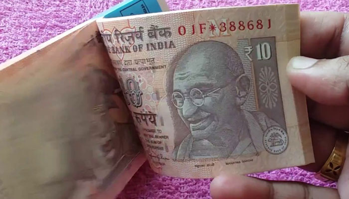 New ₹10 notes introduced in chocolate brown colour with this design!